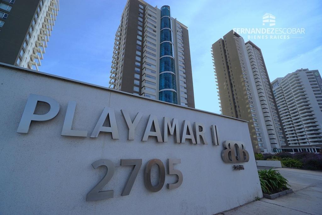 REÑACA - VENTA DEPTO EN PRIMERA LINEA - 3D 2B EDIFICIO PLAYAMAR II